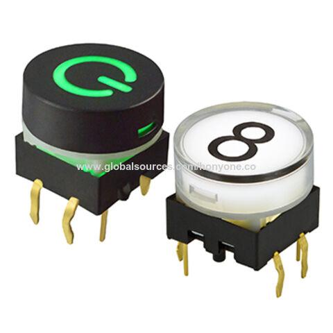 Round button 12 mm
