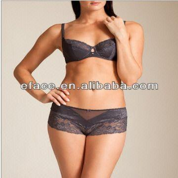 9b0ca8c2fc China Hot Sexy High Quality Ladies Lace Bra and Panty Underwear Set