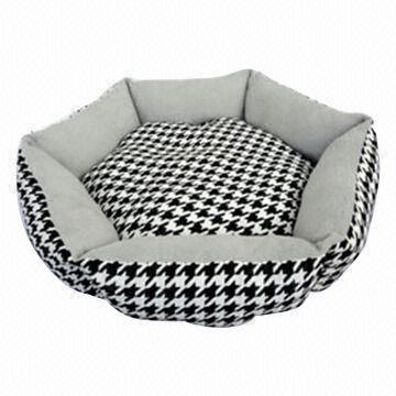 China Round Cat Bed/Cushion, Dog Mat, OEM And ODM Orders Are Welcome