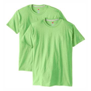 China 100% cotton men's t-shirt o neck fashion plain round neck t-shirt