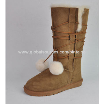 e06151b07568 ... China Fashion beautiful string winter snow boots for women