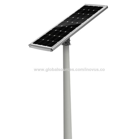 china 60w all in one solar parking lot lights outdoor from wenzhou