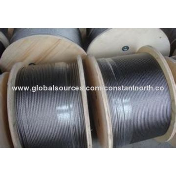 304 stainless steel wire rope sling, 6x7, can be PVC coated | Global ...
