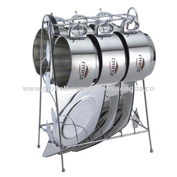 Stainless Steel Coffee Mug Set China