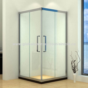 Exceptionnel Tempered Glass Square Shower Enclosure China Tempered Glass Square Shower  Enclosure