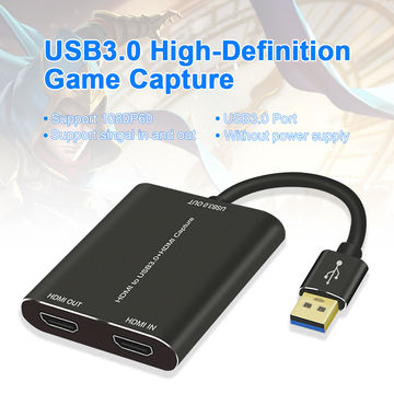 China HDMI Input Video Capture Card with USB 3 0 HDMI from
