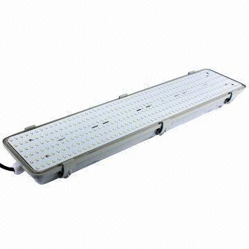 tri proof led fluorescent light fixture with explosion dust water
