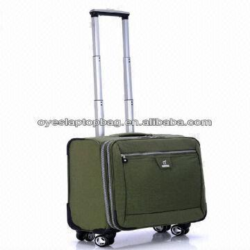 2c1217fea205 Waterproof Wheeled Travel Luggage Hand Carry Luggage Soft Case ...