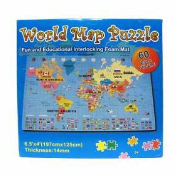 World Map Puzzle | Global Sources