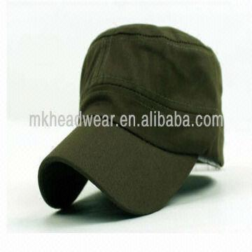 84c8089ed9b ... China 100% Cotton Fitted Military Army Cadet Cap and Hat