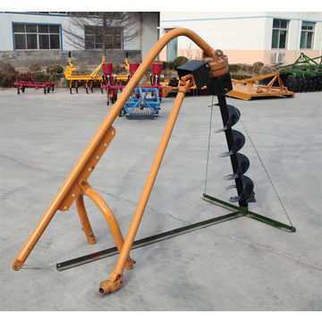Tractor post ground hole digger earth Auger, earth driller