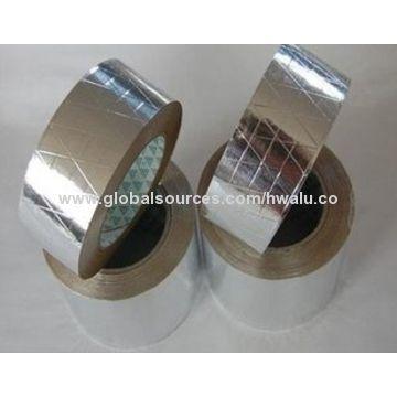 Fiberglass reinforced aluminum adhesive foil tape pipe