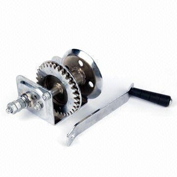Hand Winch with 3 1:1 Gear Ratio   Global Sources