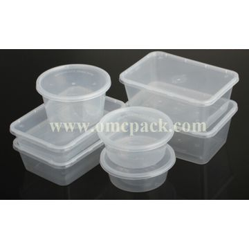 China Plastic Takeaway Food Container Microwave Safe Disposable Pp