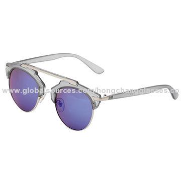 54acb9f9d039 New style fashion half rim wayfarer sunglasses for men square frame ...