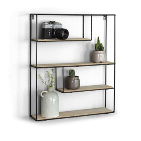 China Decorative Floating Wall Shelves Removable Storage