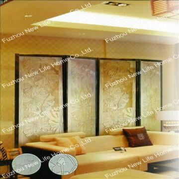 Decorative glass panel/Partition wall/Sand blast glass/Sliding door ...