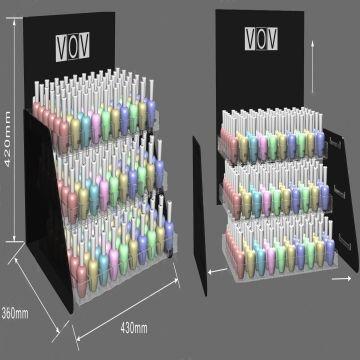 nail polish acrylic display stand,acrylic display,acrylic display ...
