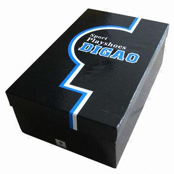 paper shoe box eco friendly re usable durable custom design