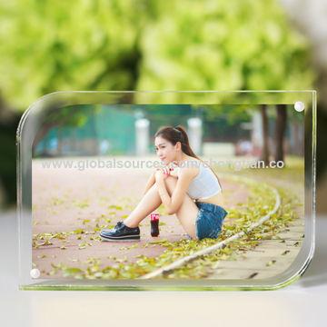 China Acrylic photo frame