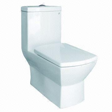 square shaped toilet seat. China Spout Siphon One Piece Toilet  Made Of Ceramic With Square Bowl Shape