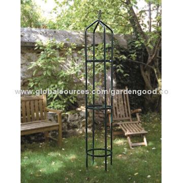 China Tutor Obelisk, Metal Garden Obelisk, Plant Support, Trellis For  Climbing Plant,