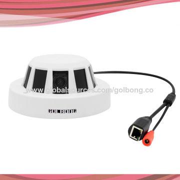 2mp Ip Smoke Detector Camera Exmor Cmos Poe Function H 264 1080p