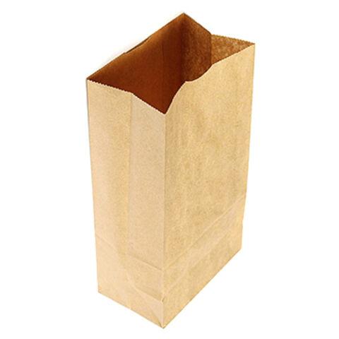 277b93c78b1 China eco craft brown kraft paper grocery bakery bags from Hangzhou ...