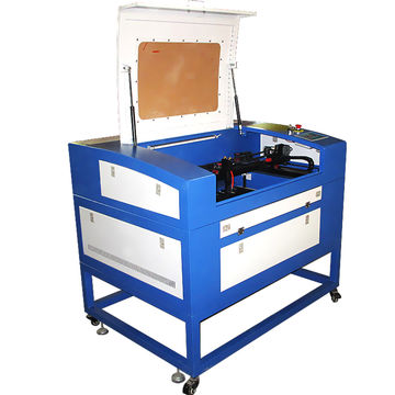 60W CO2 Small laser cutting machine with CCD camera for