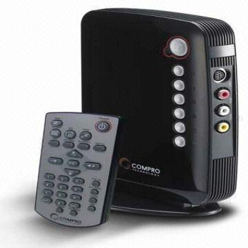 Ultra High 1920 X 1200 Standalone Analog TV Tuner Box With