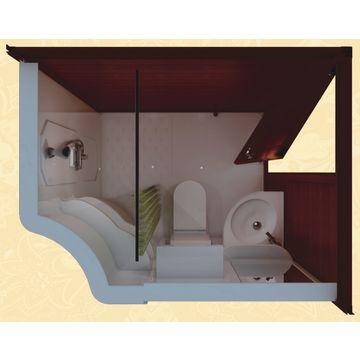 China vaina prefabricada toda del cuarto de baño en un sitio de ...