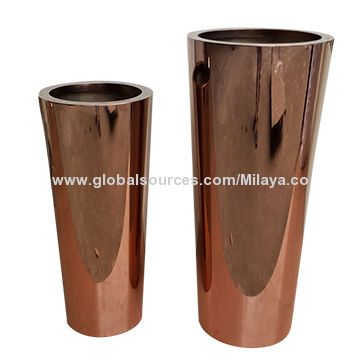High Quality Rose Gold Stainless Steel Vases For Hotel Global Sources