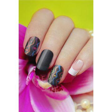 Real nail polish applique nail Sticker | Global Sources