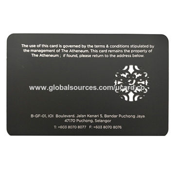 China matteglossy metal business card on global sources china matteglossy metal business card colourmoves