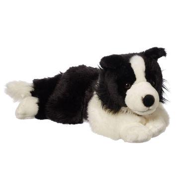 China Plush Border Collie Custom Plush Toy From Dongguan Wholesaler