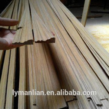 chinese decorative wood moulding good quality, engineered wooden