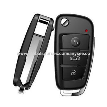 China 1080P Mini Hidden Car Key Nanny Camera, Video Recorder and Motion Detection