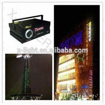 China Design Solutions International Lighting Outdoor Advertising Text Laser Projector Programmable La