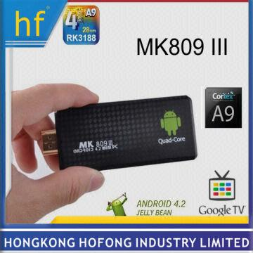 Mk809 Iii Android Tv Box Rockchip Rk3188 Quad Core 2gb Ram