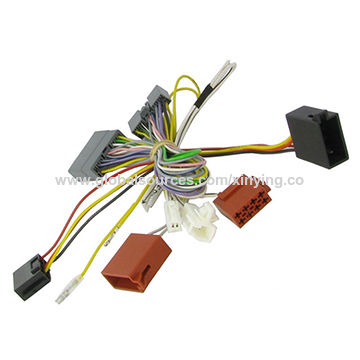 oem audio stereo male female adapter car automotive iso cable wire rh globalsources com