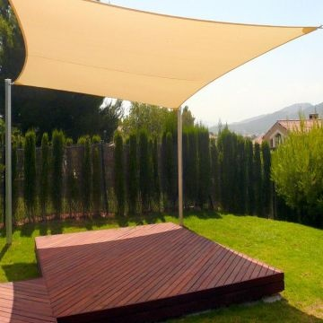 Incroyable ... China HDPE Garden Sun Sail  Versatile Patio Sun Shade Sail