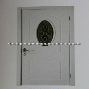 White Paint Composite Wood Glass Door Design Global Sources