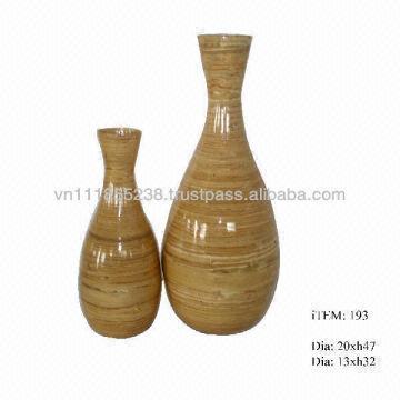 Spun Bamboo Classical Vase 47 Global Sources