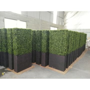 plastic fake artificial hedge fence artificial plant for fence