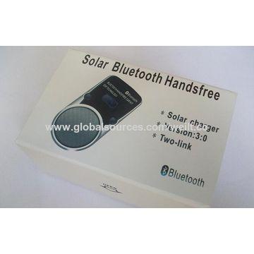 China Solar Power Car MP3 Music Player Wireless Bluetooth Radio Port FM Transmitter
