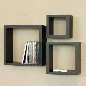 black wall cube shelves made of carb and mdf fsc materials global rh globalsources com black wall mounted cube shelves black box wall shelves