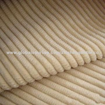 China Polyester Nylon Corduroy Fabric Used For Sofa Garments And Upholstery