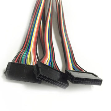 Custom Wire Harness with Molex Connector and Flat Ribbon Cable ...