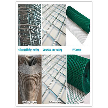 China Construction galvanized welded mesh from Trading Company ...