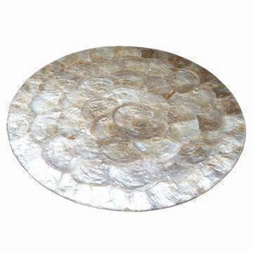 Handicraft Placemat Made Of Capiz Shells Global Sources